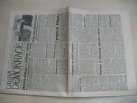 Lidová demokracie 55 (1990) ročník XLVI.