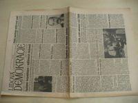 Lidová demokracie 70 (1990) ročník XLVI.