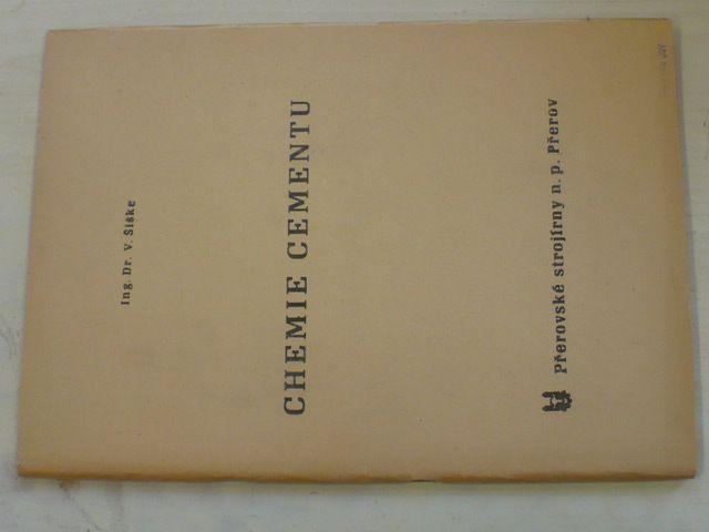 Šiške - Chemie cementu (nedatováno)