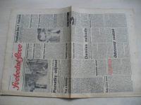Svobodné slovo 101 (1990) ročník XLVI. + příloha Slovo na svátek 29. dubna 1990