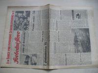 Svobodné slovo 116 (1990) ročník XLVI. + příloha Slovo na sobotu 19. května 1990