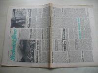 Svobodné slovo 89 (1990) ročník XLVI. + příloha Slovo na sobotu 14. dubna 1990