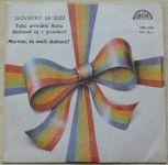 """Zdeněk Galuška – Slovácko sa súdí (1986) 4 x SP vinyl, 7"""", čte autor"""