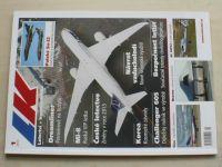 Letectví a kosmonautika 1-12 (2013) ročník LXXXIX. (chybí čísla 2, 11-12, 9 čísel)