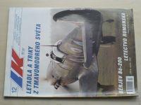 Letectví a kosmonautika 12 (2001) ročník LXXVII.