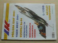 Letectví a kosmonautika 17 (2001) ročník LXXVII.