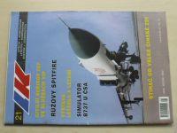 Letectví a kosmonautika 21 (2000) ročník LXXVI.