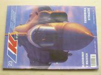 Letectví a kosmonautika 23 (2001) ročník LXXVII.