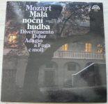 W.A.Mozart – Malá noční hudba / Divertimento D dur / Adagio A fuga C moll (1980)