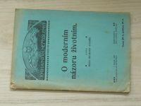 Adamík - O moderním názoru životním. (Knihovna Volné Myšlenky Praha 1909)