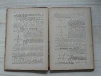 Janoušek - Geometrie pro ústavy učitelské I. II. (1883) 2 knihy