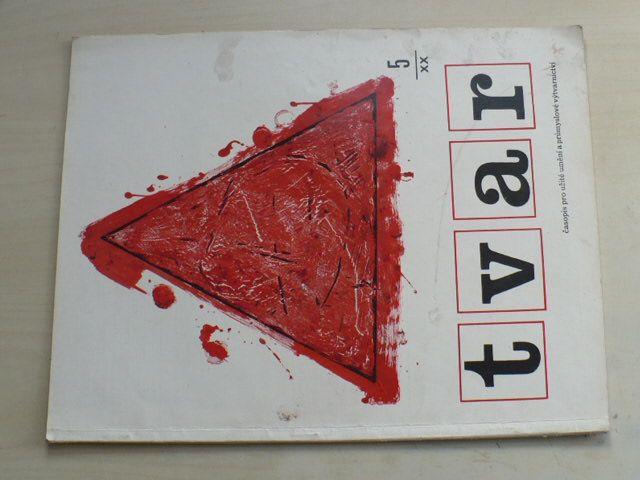 Tvar 5 (1968) ročník XX.