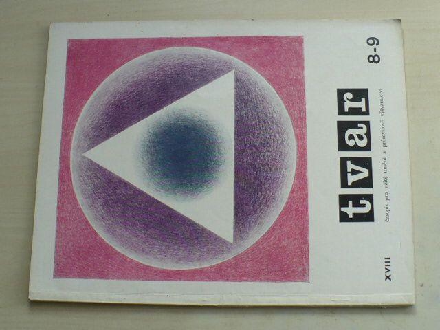 Tvar 8-9 (1966) ročník XVIII. (dvojčíslo)