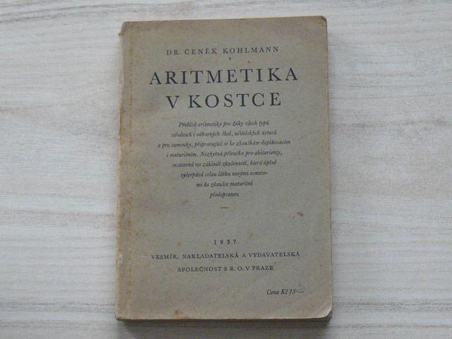 Dr. Kohlman - Aritmetika v kostce (1937)