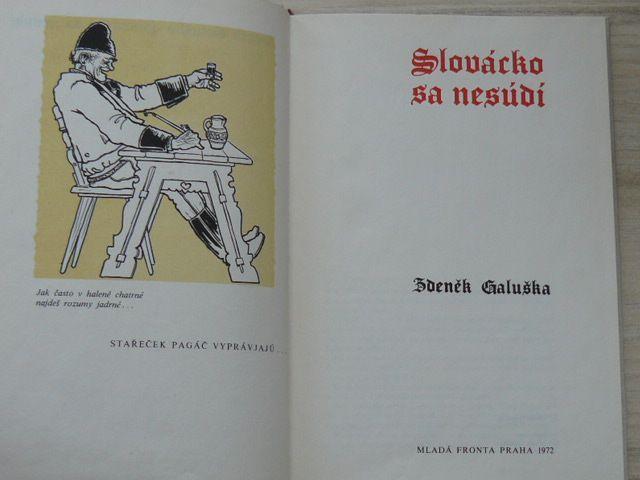 Galuška - Slovácko sa nesúdí (1972)