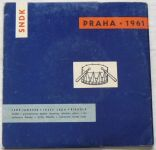 Leoš Janáček – Říkadla (1961) SP deska ke knížce ´´ Říkadla ´´