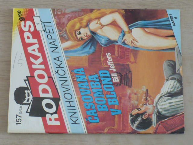 Rodokaps - Knihovnička napětí 157 - Jeffers - Časovaná bomba v blond (1993)