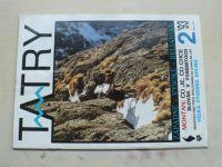Tatry 1-6 (1993) ročník XXXII. (chybí číslo 1, 5 čísel) slovensky