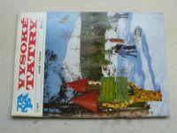 Vysoké Tatry 1-6 (1977) ročník XVI. (slovensky)