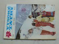 Vysoké Tatry 1-6 (1979) ročník XVIII. (slovensky)