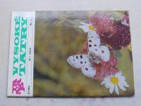 Vysoké Tatry 1-6 (1982) ročník XXI. (slovensky)