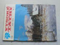 Vysoké Tatry 1-6 (1983) ročník XXII. (slovensky)