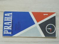 Automapa 1 - 1 : 200 000 - Praha (1971)