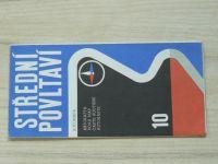 Automapa 10 - 1 : 200 000 - Střední Povltaví (1973)