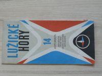 Automapa 14 - 1 : 200 000 - Lužické hory (1968)