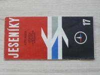 Automapa 17 - 1 : 200 000 - Jeseníky (1967)