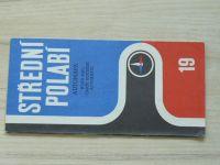 Automapa 19 - 1 : 200 000 - Střední Polabí (1973)