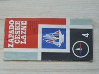 Automapa 4 - 1 : 200 000 - Západočeské lázně (1972)