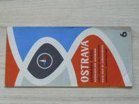 Automapa okolí 6 - 1 : 200 000 - Ostrava (1966)