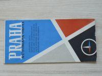 Automapa okolí - 1 : 200 000 - Praha (1965)