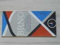 Automapa okolí - 1 : 200 000 - Brno (1965)