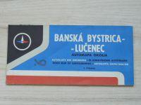 Automapa okolia - 1 : 200 000 - Banská Bystrica, Lučenec (1972)