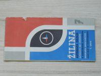 Automapa okolia - 1 : 200 000 - Žilina (1972)