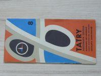 Automapa okolia 8 - 1 : 200 000 - Tatry (1966)