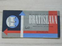 Automapa okolie - 1 : 200 000 - Bratislava (1964)