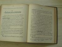Církevní právo - přednáší ř.prof.dr. K. Henner - Vydání autorisované 1902, rukopis