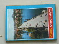 Praha - Karlův most (nedatováno) soubor 12 pohlednic