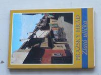 Pražský hrad - Zlatá ulička (nedatováno) soubor 12 pohlednic