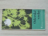 Soubor turistických map 17 -  1 : 100 000 - Oderské vrchy (1975)
