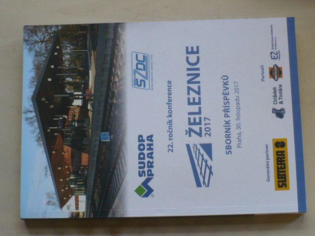 Železnice - Sborník příspěvků - 22. ročník konference 2017 - CD