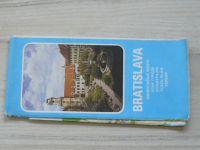Orientačná mapa 1 : 50 000 - Bratislava (1985)