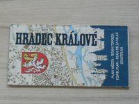 Plán města 1 : 15 000 - Hradec Králové (1981)