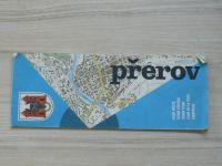 Plán města 1 : 15 000 - Přerov  (1985)