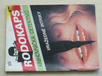 Rodokaps - Knihovnička detektivů 89 - Vražedné intriky (1992)
