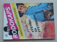 Rodokaps - Knihovnička westernů 25 - Tex - Výstřel za výstřelem (1992)