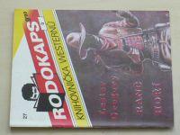 Rodokaps - Knihovnička westernů 27 - Gregory - Ranč hoří (1992)